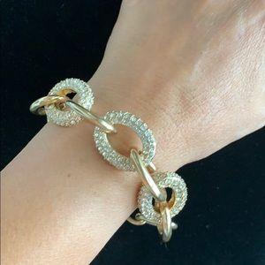 Jewelry - Chain gold diamond bracelet ✨